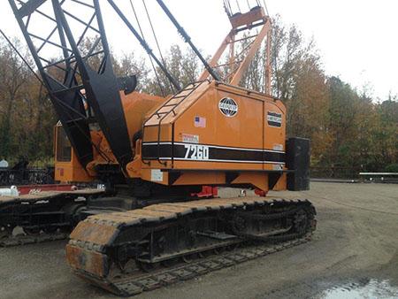 American 7260 80 Ton Excavator