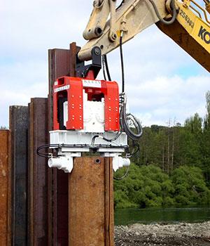 Dawson Excavator Mounted Vibratory Hammers